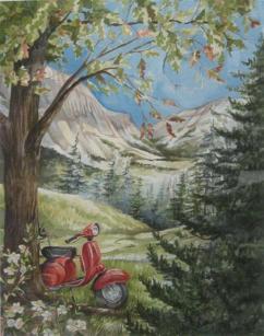 Painting for Pastor John